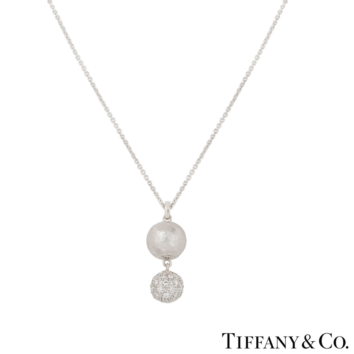 777e6ab2e Tiffany & Co. White Gold Paloma Picasso Diamond Necklace